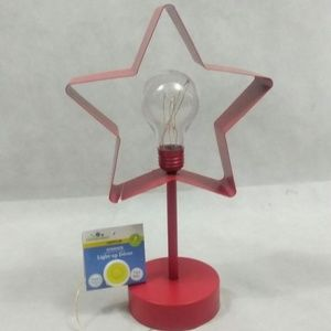NEW Celebrate STAR lamp - RED